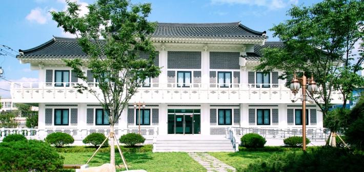 숭덕박물관 전경